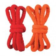 Vilten koorden, dik, rood/oranje