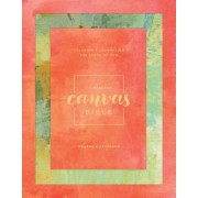 Message Canvas Bible: Coloring and Journaling the Story of God, Hardcover