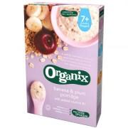 Cereale Organix cu Ovaz, Orez, Banane si Prune, 200 g, de la 7 luni