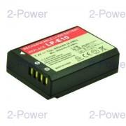 2-Power Digitalkamera Batteri Canon 7.4v 850mAh (LP-E10)