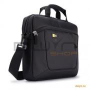 Husa ultrabook 14.1' Case Logic, buzunar interior 10.1', buzunar frontal, poliester, black 'AUA-314'