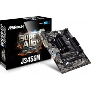 ASRock J3455M Intel Quad-Core Processor J3455 (up to 2.3GHz) Motherboard/CPU Combo