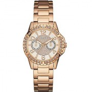 Guess Sassy Rose Gold Tone Womens Watch - W0705L3