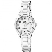 Q&Q Analog White Dial Womens Watch-Q969J204Y