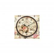 Reloj de Pared Vintage Modelo R47 - Multicolor