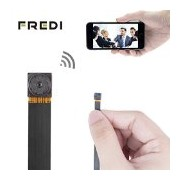 FREDI HD Mini Super Small Portable Hidden Spy Camera P2P Wireless WiFi Digital Video Recorder for IOS iPhone Android Phone APP Remote View