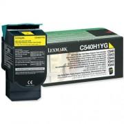 Toner Lexmark C540H1YG yellow, C54x/X54x 2.0k