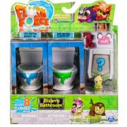 Комплект Flush Force - Чудна баня, 2 тоалетни чинии и 8 фигурки, Spin Master, 872083