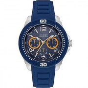 Guess Mens Analogue Tread Quartz Silicone Watch - W0967G2
