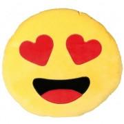 Geen Verliefde emoticon kussentje 50 cm Multi