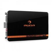 Auna Dark Star 6000 Amplificador coche 6 canales 600W RMS