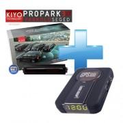Kiyo ProPark3 XT lézerblokkoló tolatóradarral + KIYO GPS800 detektor telepített teljes Európa adatbázissal