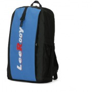 LeeRooy Canvas 19 Ltr Black School Bag Backpack For Unisex