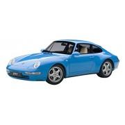 1995 Porsche Carrera 911 993 Riviera Blue Metallic 1/18 by Autoart 78133