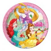 Lobbes Disney Prinses Bordjes, 8st.