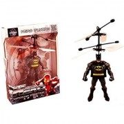 Batman Helicopter USB Rechargeable Induction Type Hand Sensor Aircraft with USB Charger