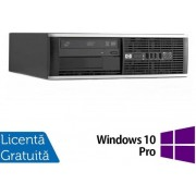 Sistem PC Refurbished HP 8300 SFF (Procesor Intel® Core™ i5-3470 (6M Cache, up to 3.60 GHz), Ivy Bridge, 4GB, 500GB HDD, Intel® HD Graphics 2500, Win10 Pro)