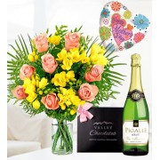 Luxury Rose and Freesia
