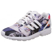 adidas Originals Men's Zx Flux Blue and White Running Shoes - 9 UK