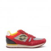 Lotto Sneakers da uomo Tokyo Shibuya rosso e grigio
