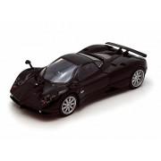 Pagani Zonda F, Black - Motor Max 73369/6 - 1/24 Scale Diecast Model Toy Car