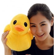 "30cm(11"") Giant Yellow Duck Stuffed Animal Plush Soft Toys Cute Doll One Piece"