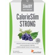 Sensilab SlimJoy CalorieSlim Strong Diätpillen Verlangen nach Zucker bändigen Mit Gymnema Sylvestre Extrakt 1-monatige Kur 60 Kapseln Sensilab