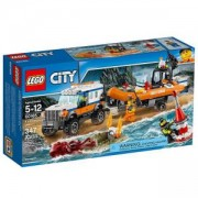 Конструктор ЛЕГО СИТИ - Екип за реакция 4x4, LEGO City Coast Guard, 60165