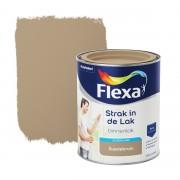 Flexa Strak in de lak voor binnen suedebruin zijdeglans 750 ml