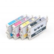 Canon Originale Pixma MX 725 Cartuccia stampante (CLI-551 XL / 6443 B 006) multicolor Multipack (4 pz.), Contenuto: 5530pg + 3x695pg