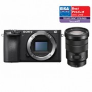 Sony Alpha A6500 kit SELP 18-105mm F/4 G, negru