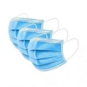 Pachet 50 Masti Protectie de Unica Folosinta + Solutie Igienizar