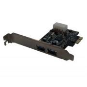 Tarjeta PCI-Express con 2 puertos USB3.0, X-Case PCI302