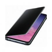 Maska Samsung Prozirna preklopna crna za Galaxy S10E EF-ZG970CBEGWW