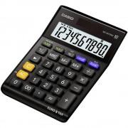 Stolni kalkulator Casio MS-100TERII Crna Zaslon (broj mjesta): 10 solarno napajanje, baterijski pogon (Š x V x d) 103 x 29 x 147