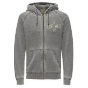 Jack & Jones Morris Hoodie Grå Herr Jack & Jones