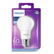 Bec LED Philips 7.5W (60W), E27, lumina rece 6500k