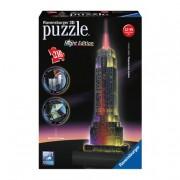 JEUX RAVENSBURGER Ravensburger - Puzzle 3D - Empire State con Luz