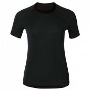 Odlo - Women's Shirt S/S Crew Neck Warm - Sous-vêtement synthétique taille L, noir