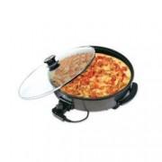 Grill electric pentru pizza ZILAN ZLN-7870 Putere 1500W Capac din sticla termorezistenta