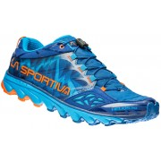 La Sportiva Helios 2.0 Hardloopschoenen oranje/blauw 2017 Trailrunning schoenen