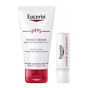 Ph5 creme de mãos 75ml oferta lip active bálsamo de lábios spf15 4,8g - Eucerin