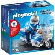 Комплект Плеймобил 6923 - Полицейски мотор с LED светлина, Playmobil, 2900162