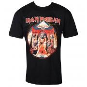 tricou stil metal bărbați Iron Maiden - Powerslave Lightning Circle - ROCK OFF - IMTEE70MB