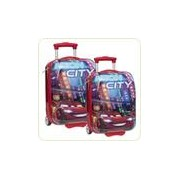 Set Troler Bagaje Cars Disney Neon