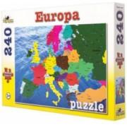Puzzle Harta Europei 240 piese