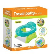 Toys Bhoomi 2 in 1 Baby Travel Potty & Toilet Trainer for Infants with Liners Potty Seat