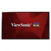 """ViewSonic CDE4302 pantalla de señalización 109.2 cm (43"""") LED Full HD Pantalla plana de señalización digital Negro Pantallas de señalización (109.2 cm (43""""), LED, 1920 x 1080 Pixeles, 350 cd / m², Full HD, 16:9)"""