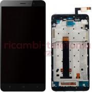 Xiaomi - Vetro LCD completo per Xiaomi Redmi Note 3 - Nero (Originale)