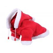 QHP Hondendeken Christmas - red - Size: 40